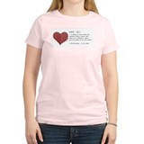 Love... Women's Pink T-Shirt