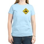 Rabbit Crossing Sign Women's Light T-Shirt