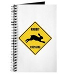 Rabbit Crossing Sign Journal
