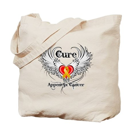 Cure Appendix Cancer Tote Bag
