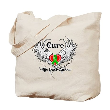 Cure Bile Duct Cancer Tote Bag