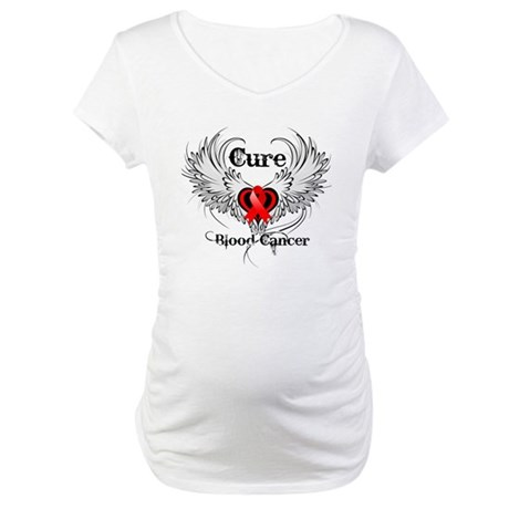 Cure Blood Cancer Maternity T-Shirt
