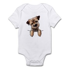 Pocket Border Terrier Infant Bodysuit