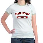 Bhutan Native Jr. Ringer T-Shirt