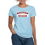 Bhutan Native Women's Pink T-Shirt