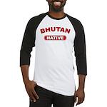 Bhutan Native Baseball Jersey