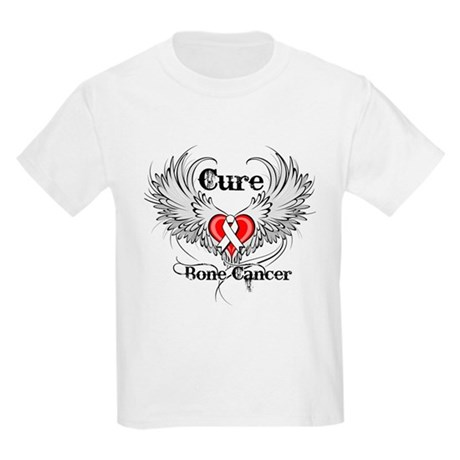 Cure Bone Cancer Kids Light T-Shirt