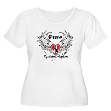 Cure Carcinoid Cancer Women's Plus Size Scoop Neck