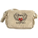 Cure Carcinoid Cancer Messenger Bag
