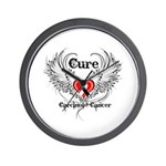 Cure Carcinoid Cancer Wall Clock