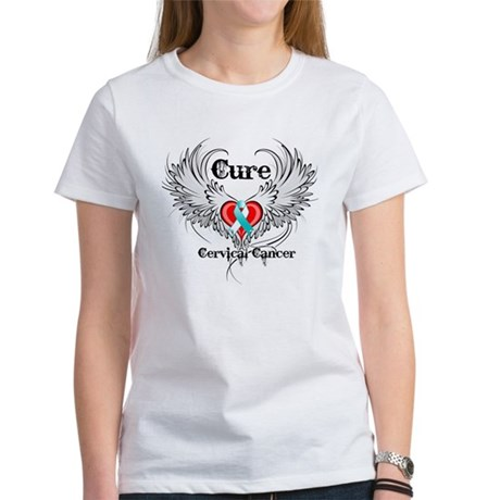 Cure Cervical Cancer Women's T-Shirt