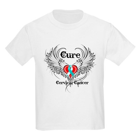 Cure Cervical Cancer Kids Light T-Shirt