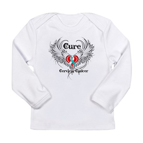 Cure Cervical Cancer Long Sleeve Infant T-Shirt