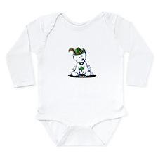 St. Patrick Westie Long Sleeve Infant Bodysuit