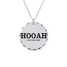 HOOAH (Army Pride) Necklace