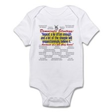 Democrat Tissue of Lies Infant Creeper