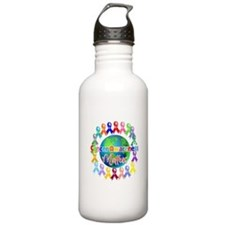 Cancer Awareness World Water Bottle