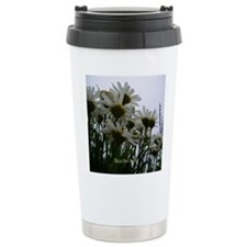 Pushing Daisies Ceramic Travel Mug