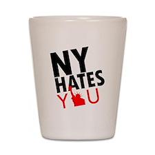 New York Hates You Shot Glass