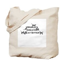 World's Greatest Cat Sitter Two-Sided Tote Bag