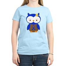 Blue Ribbon Owl Awareness T-Shirt