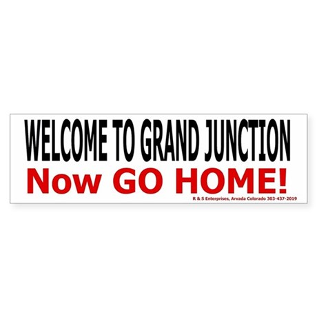 Grand Junction welcome sticker