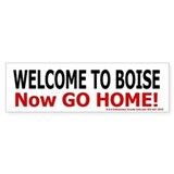 Boise Welcome Bumper Bumper Sticker