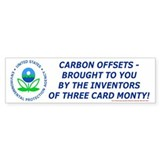 Carbon monty Bumper Bumper Sticker