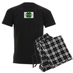 LUCKY CLOVER Men's Dark Pajamas