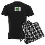 LUCKY CLOVER Men's Dark Pajamas