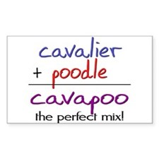 Cavapoo PERFECT MIX Decal
