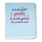 Cavapoo PERFECT MIX baby blanket