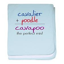 Cavapoo PERFECT MIX baby blanket