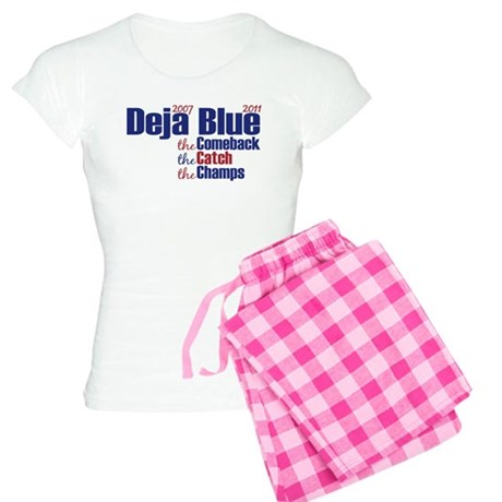 Deja Blue Giants Women's Light Pajamas