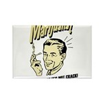 marijuana t-shirt Rectangle Magnet