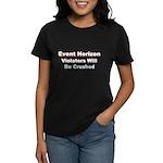 Event Horizon: Crushed Women's Dark T-Shirt