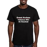 Event Horizon: Crushed Men's Fitted T-Shirt (dark)