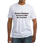 Event Horizon: Crushed Fitted T-Shirt