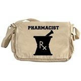 Pharmacist Rx Messenger Bag
