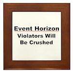 Event Horizon: Crushed Framed Tile