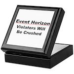 Event Horizon: Crushed Keepsake Box