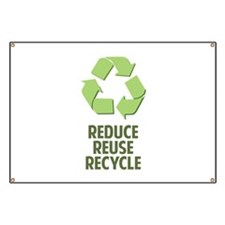 Reduce Reuse Recycle Banner