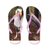 Griffin In The Forest Flip Flops