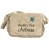 Actress (World's Best) Gift Messenger Bag