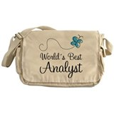Analyst (World's Best) Gift Messenger Bag