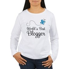 Blogger (World's Best) Gift T-Shirt