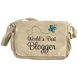 Blogger (World's Best) Gift Messenger Bag