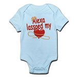 Alexa Lassoed My Heart Infant Bodysuit