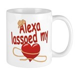 Alexa Lassoed My Heart Mug