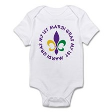 My 1st Mardi Gras Infant Bodysuit